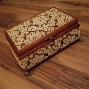 Vintage MELE Jewelry Box Made in Japan